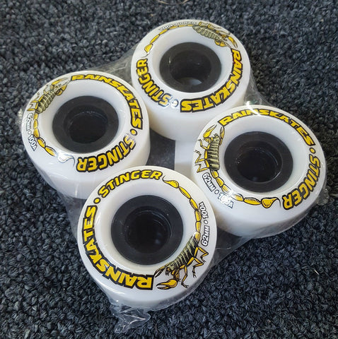 Rainskates Stinger wheels  62mm 100A WHITE