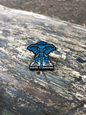 PRIME / WORLD Mike Vallely ELEPHANT ON THE EDGE enamel pin