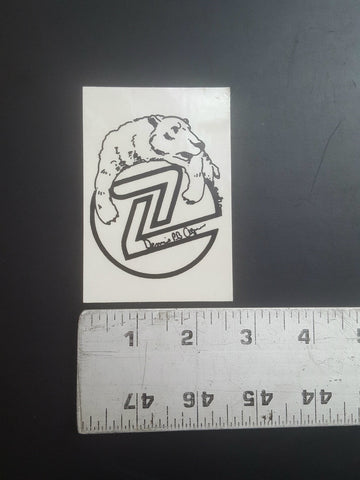Z Flex Sticker (Dennis Agnew Polar Bear)