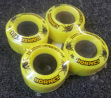 Rainskates Hornet wheels  65mm 98A YELLOW