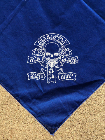 SK8supply Skate Shop Bandanna BLUE