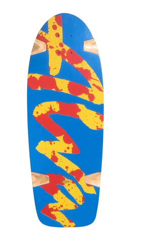 ALVA Splatter Deck BLUE
