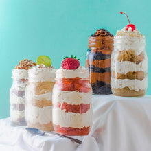 Cake Jars - Holiday Menu