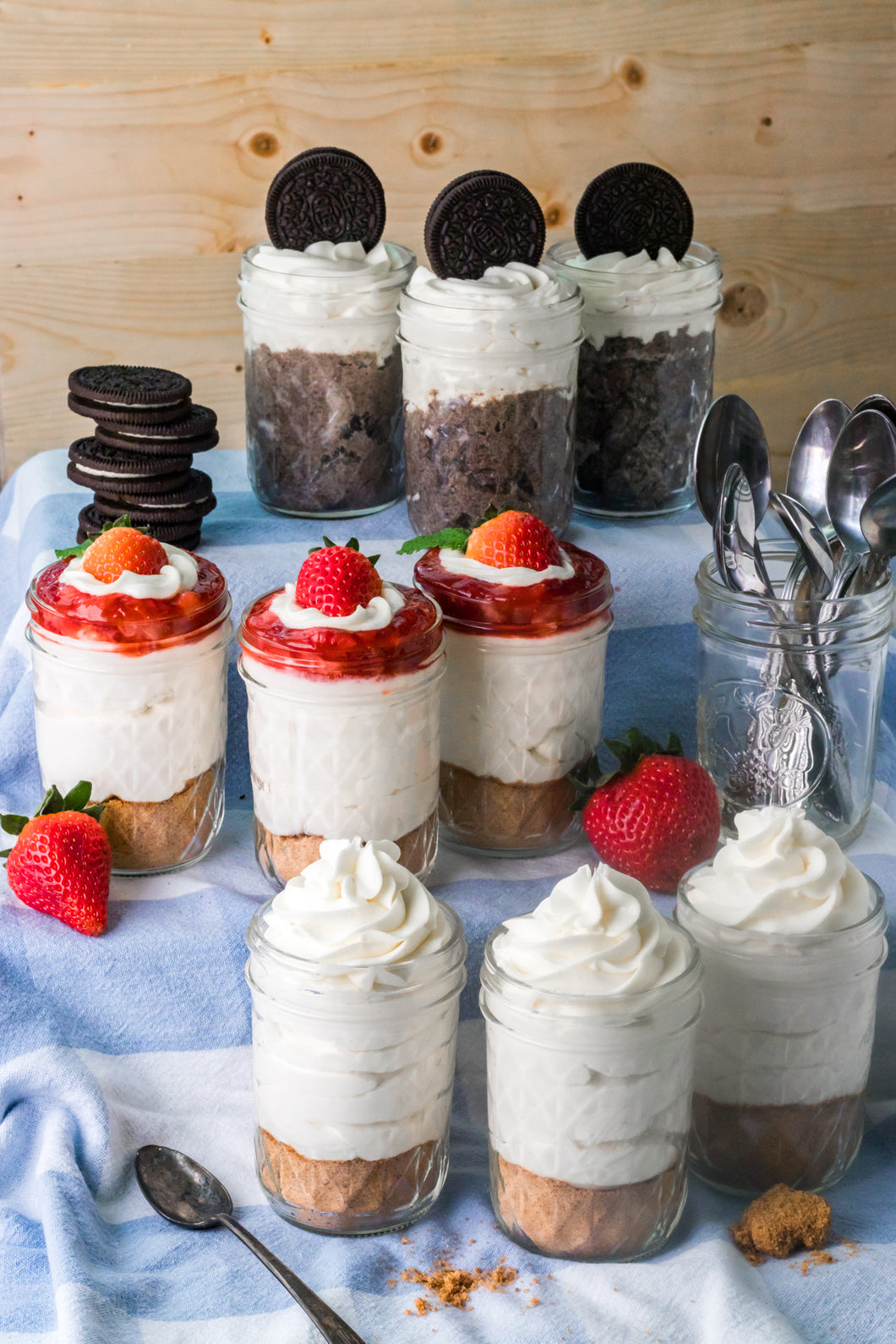 Cheesecake Jars