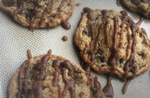 Caramel Pecan Chocolate Chip Cookies