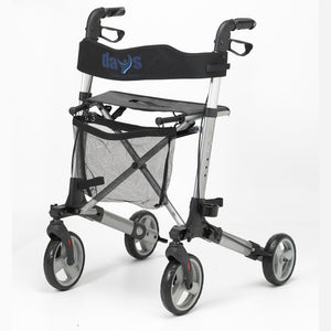 Days Deluxe Lightweight Rollator with VAT