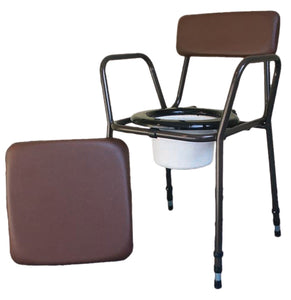 Essex Height Adjustable Commode Chair with VAT