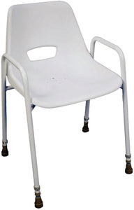 Milton Stackable Portable Shower Chair with VAT