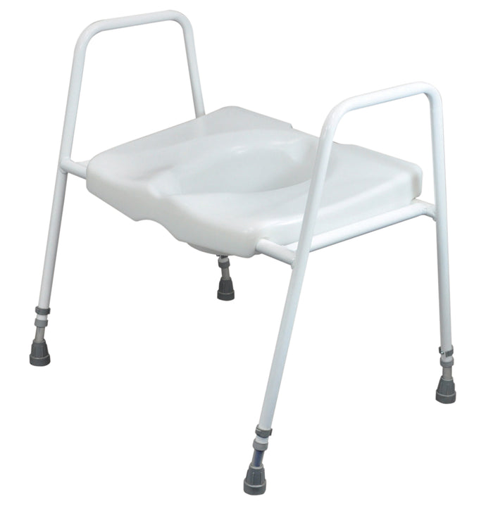 Aidapt President Bariatric Toilet Seat and Frame with VAT