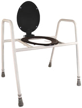 Solo Skandia Raised Toilet Frame with Seat and Lid with VAT