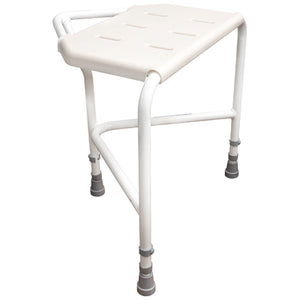 Pembury Height Adjustable Corner Shower Stool with VAT