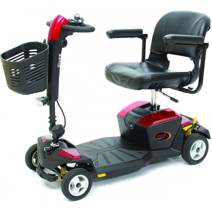 Pride Apex Rapid 17ah - Mobility Travel Scooter