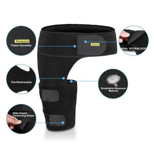 Groin Wrap Groin Strain Pain Support for Hip Injury and Sciatica