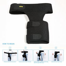 Groin Wrap Groin Strain Pain Support for Hip Injury and Sciatica Brace for Men and Women