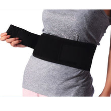 Waist Support Lumbar Brace Belt Double Pull Strap Pain Massager