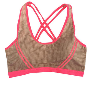 Women T-shirt Summer Fitness Stretch Workout | Padded Sporting Quick Dry Vest Singlet Bra Tops