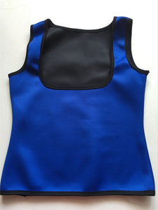 High Quality Neoprene Cami Vest Body Shaper Blue Color