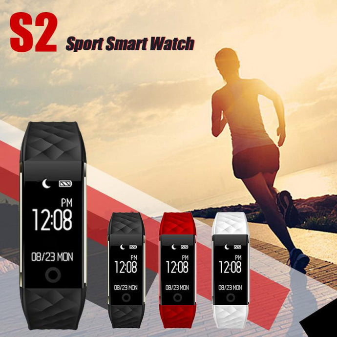 High Quality Bluetooth Sports LED Waterproof Smart Wrist Pedometer Watch
