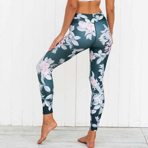 Women Legging Yoga Print Sports Gym Workout 3D Print  Fitness Lounge Athletic Yoga Pants