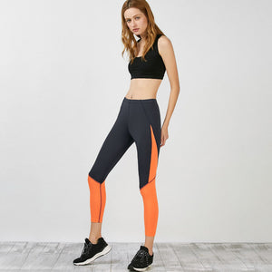 Patchwork Sports Leggings for Women
