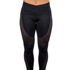 Women's Sport Workout Leggings Breathable Fitness Sports Dry Quickly Gym Running Yoga Leggings Athletic Pants