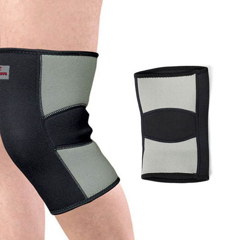 Warm Elastic  Sports Leg Knee Support Brace Wrap Protector Knee Pads Kneepads Knee Protect Sports Tendon Training