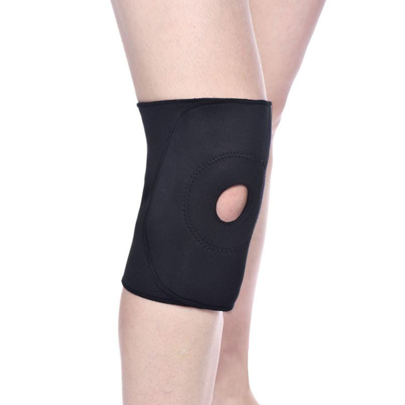 Elastic Neoprene Patella Brace Knee Belt Support Fastener Adjustable Strap Easy to Use after injury  Comfortable Knee Protetor