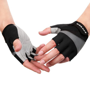 Sports Gel Half Finger Gloves with Superior Quality