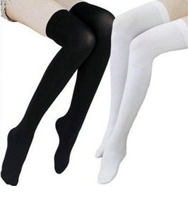 Women's Over Knee Long Cotton Socks