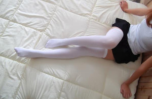Girl's Thigh High Soft Cotton Stockings New