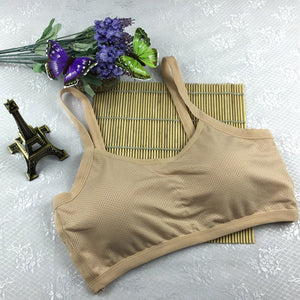 Seamless Racerback Padded Sports Bra with Excellent Quality