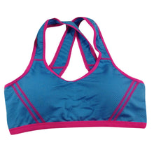 Women Yoga Fitness Stretch Workout Tank Top | Seamless Padded Sports Bra