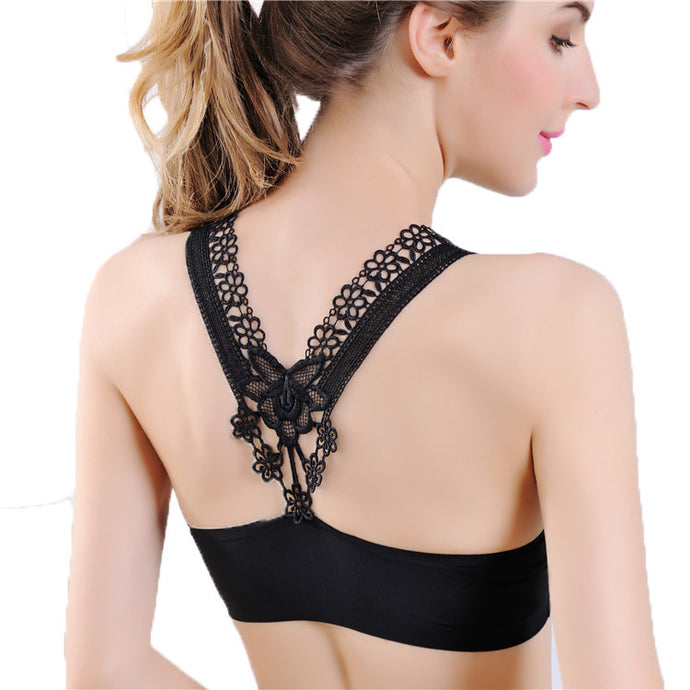 Ladies Sling Seamless Yoga and Sports Bra