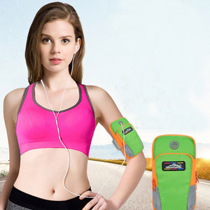 Outdoor Running and Sports Wrist Pouch with High Quality