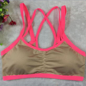 Ladies Sports, Yoga, and Athletic Solid Wrap Vest Tops Bra at Discounted Price