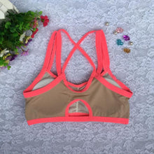 Ladies Sports, Yoga, and Athletic Solid Wrap Chest Strap Vest Tops Bra
