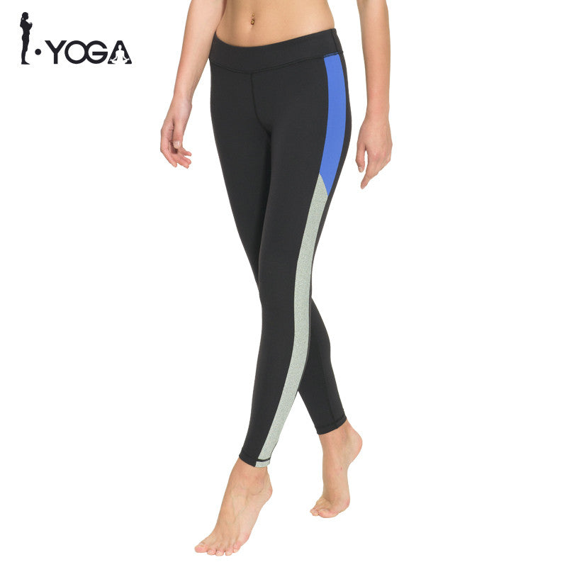 Fitness Women Yoga Legging Activewear Pants High Waist Mesh Tights Sports Athletic Gym Running Workout Bottom Sportswear