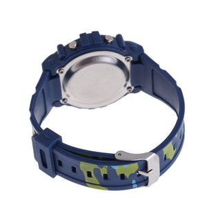 Camouflage Swimming Sports Digital Watch with High Quality