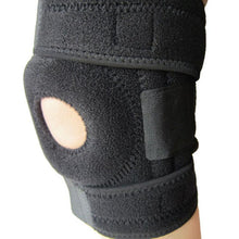 Hot Good Quality Elastic Neoprene Patella Brace Knee Belt Support Fastener Adjustable Strap Knee Support  Knee Protector