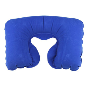 Air Inflatable Pillow U-Shaped Neck Rest for Travel at Affordable Price