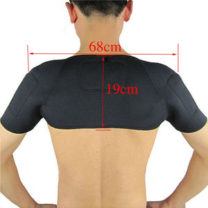 Magnetic Therapy Thermal Self-heating Shoulder Pad Belt Shoulder Support Brace Protector