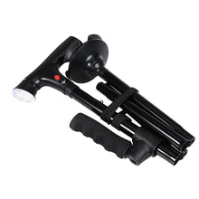 High Quality Adjustable LED Trusty Walking Cane for Elderly