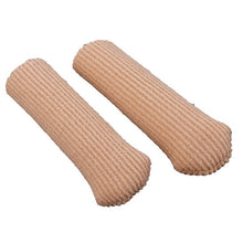 Pair of Fiber Silicon Bunion Protectors Toe Separators Straighters Spreaders Correctors -