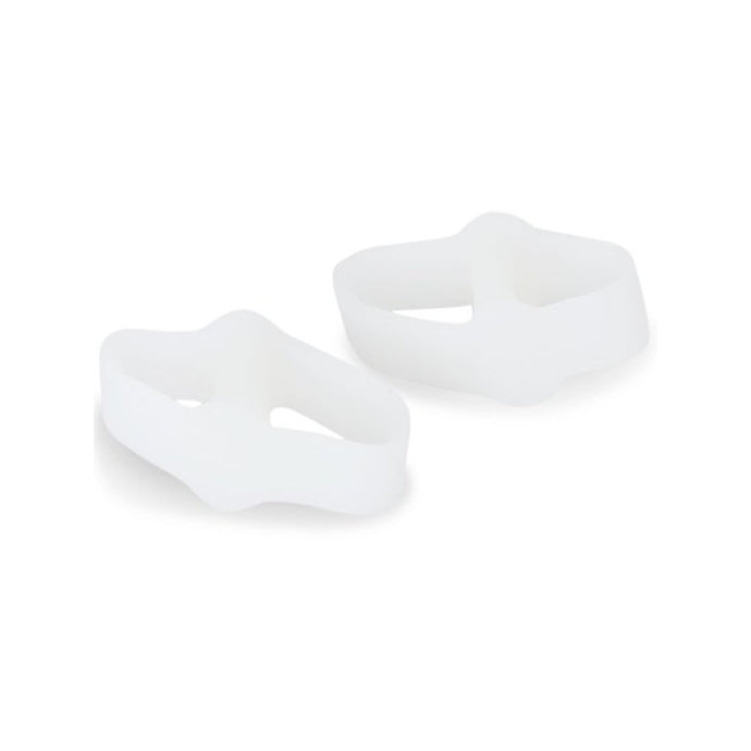 Pair of 2 Holes Toe Bunion Protectors Toe Separators Straighters Spreaders Correctors