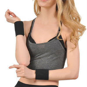 Pair of Magnetic Therapy Thermal Self-heating Wrist Pad Belt