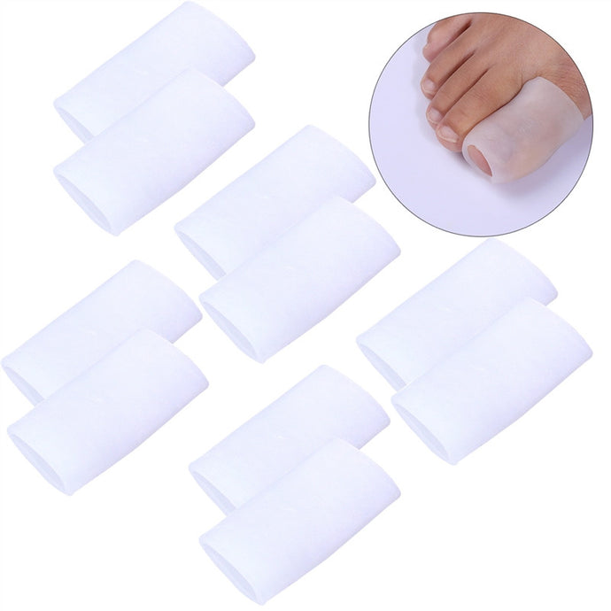 5 Pairs of Toe Sleeves Toe Protectors