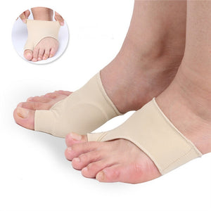 Bunion Relief & Bunion Corrector Protector Sleeves Kit - Treat Pain in Hallux Valgus Tailors Bunion Big Toe straightener Hammer Toe Toe Separator Spacers bunion Splint Aid Surgery Treatment Night