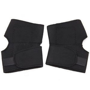 Pair of Magnetic Therapy Thermal Self-heating Elbow Pad Belt Elbow Support Brace Protector