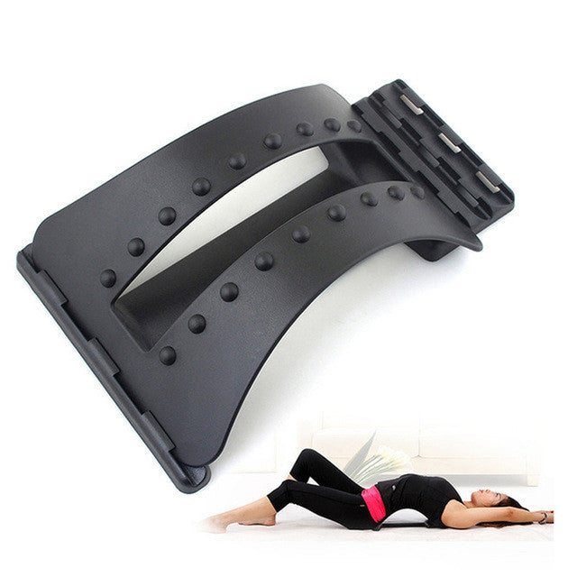 Back Massage Magic Stretcher Fitness Equipment Stretch Relax Mate Stretcher Lumbar Support