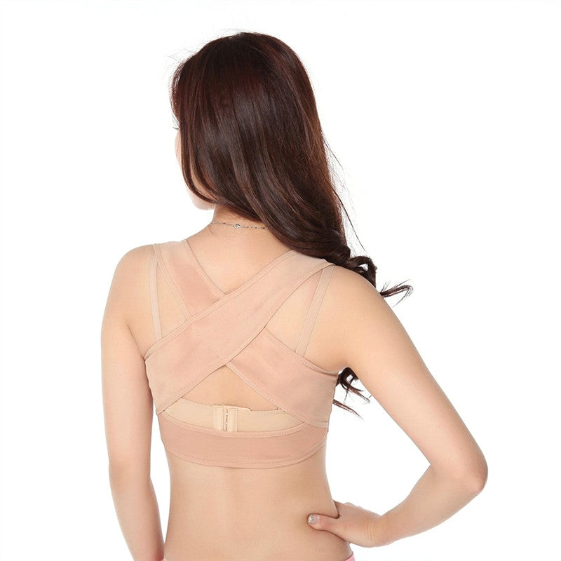 Women Figure Back Posture Corrector Hunchback Relief Humpback Correction Brace Chest Bra Support for Woman